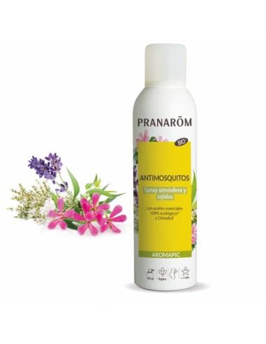 Repelente antimosquitos Spray PRANAROM AROMAPIC (atmósfera y tejidos) 150ml