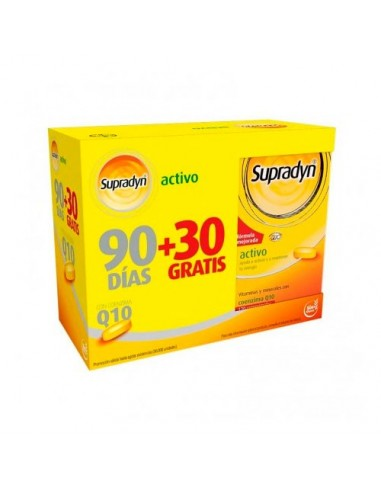 Supradyn  Activo 90 + 30 Comp