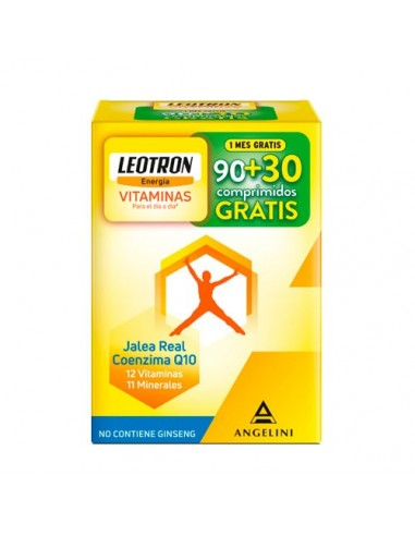 Leotron Vitaminas 90 +30 Comp